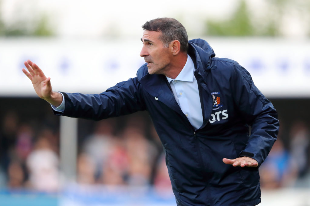 Kilmarnock manager Angelo Alessio