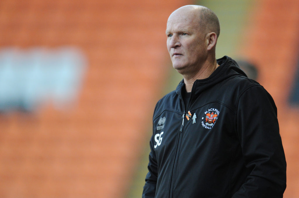 Blackpool's Simon Grayson